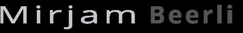 Mirjam Beerli Logo